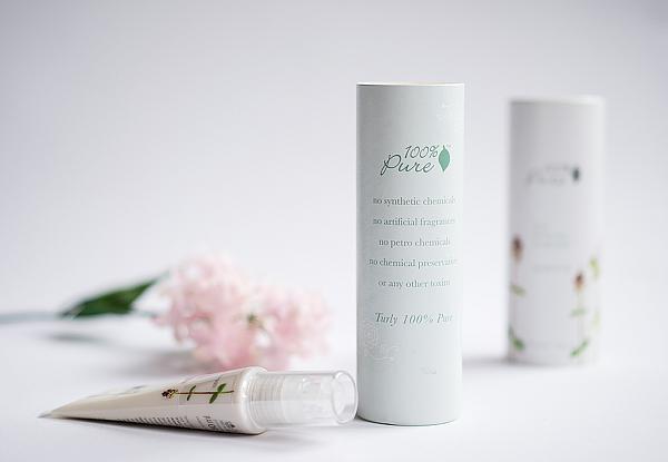 Naturkosmetik - Mint White Tea Moisturizer - Feuchtigkeit für normale bis fettige Haut