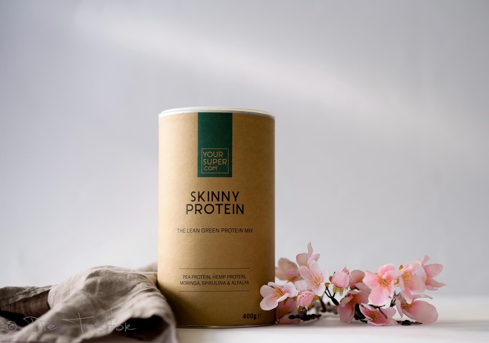 SKINNY PROTEIN Veganes Proteinpulver mit Moringa