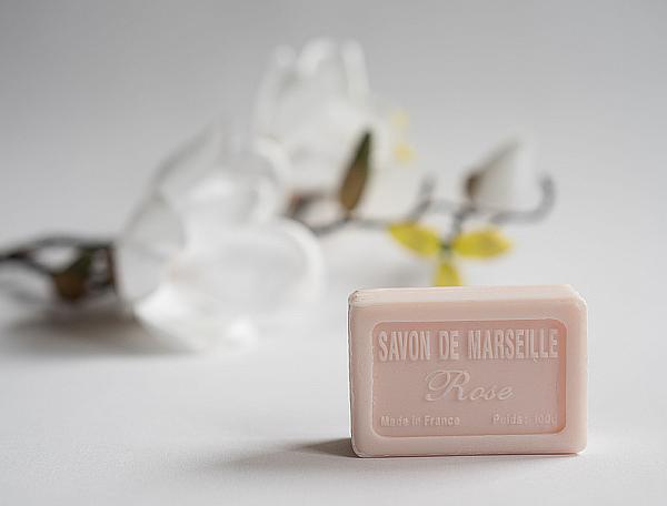 Rose - Französische Rosen-Seife