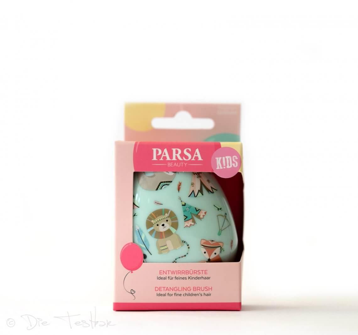 PARSA Beauty Entwirrbürste Indianer und Fee