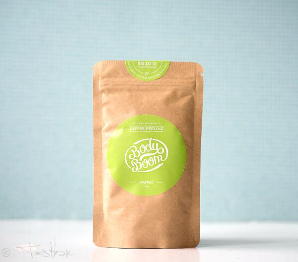 BodyBoom -Kaffeepeeling Mango