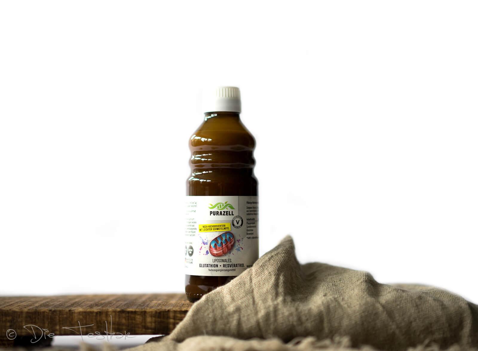 Liposomales Glutathion + Resveratrol vonPurazell