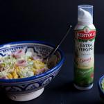 Köstliche Salate mit Bertolli Olivenöl-Spray