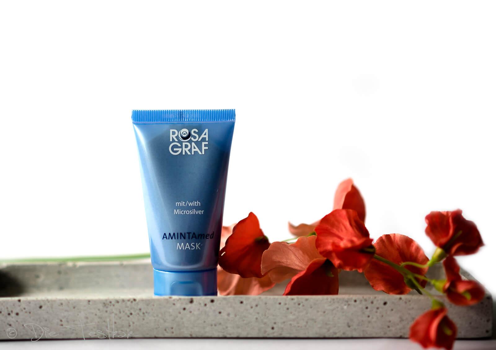 AMINTAmed MASK Creme-Packung mit Microsilver für jugendliche, fettige und unreine Haut