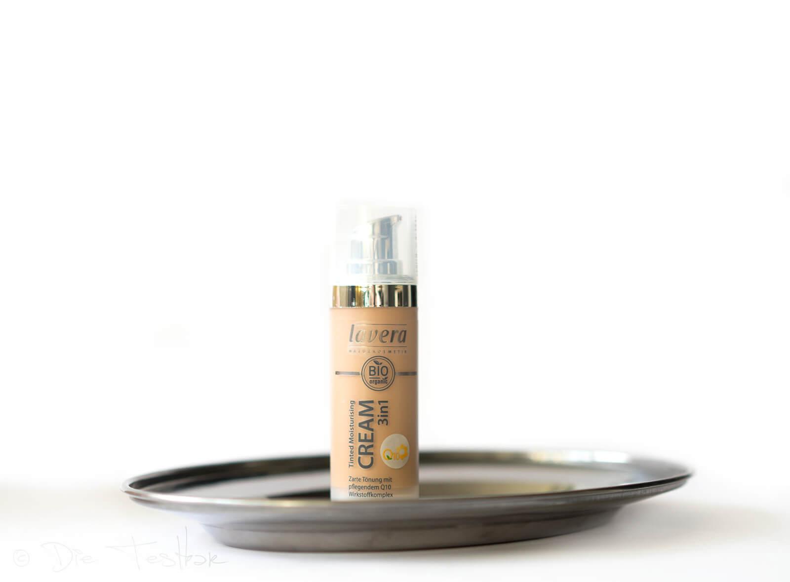 Make-up Tinted Moisturising Cream 3in1 mit Q10-Wirkstoffkomplex Ivory Light 01