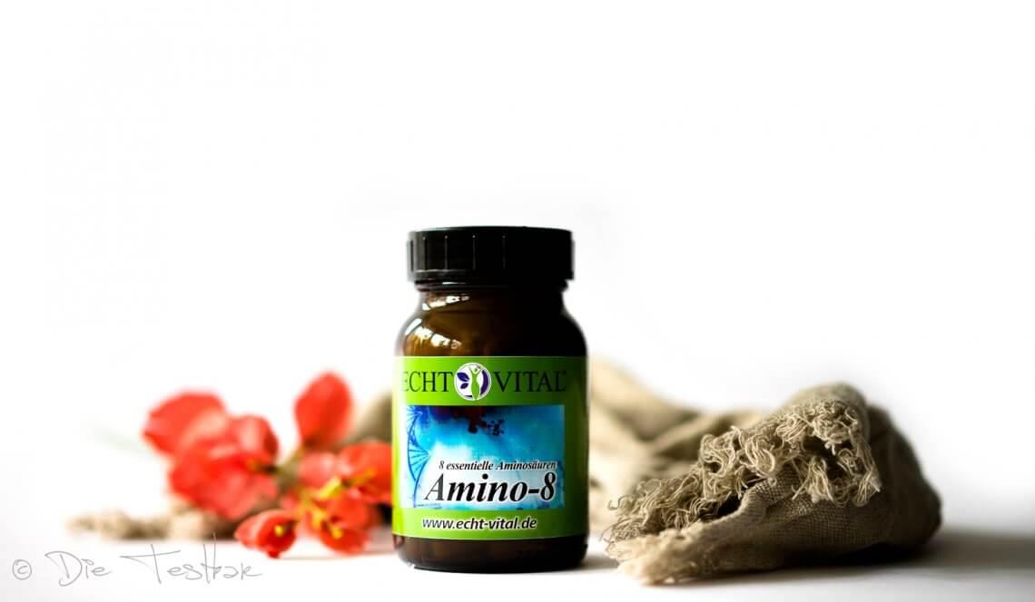 ECHT VITAL Amino-8 - alle essentiellen Aminosäuren (EAA) in einer Tablette