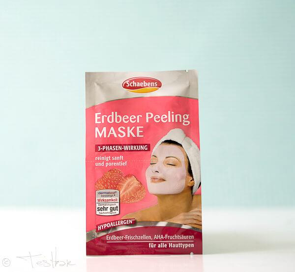 Schaebens - Erdbeer Peeling Maske