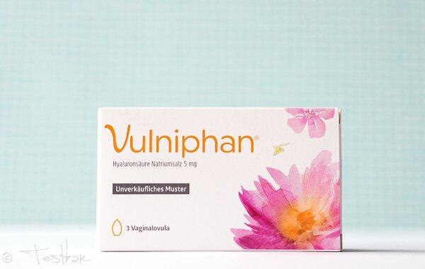 Vulniphan zu Linderung der Scheidentrockenheit und für die Feuchtigkeit und Regeneration der Vaginalschleimhaut