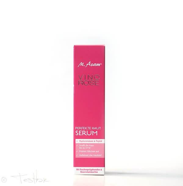 Vino RosePerfekte Haut Serum von M. Asam