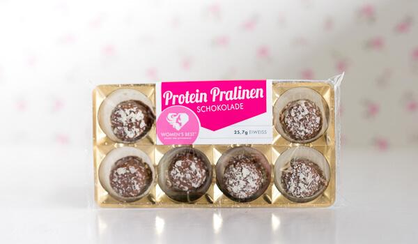 WOMEN'S BEST - PROTEIN PRALINEN - Schokolade