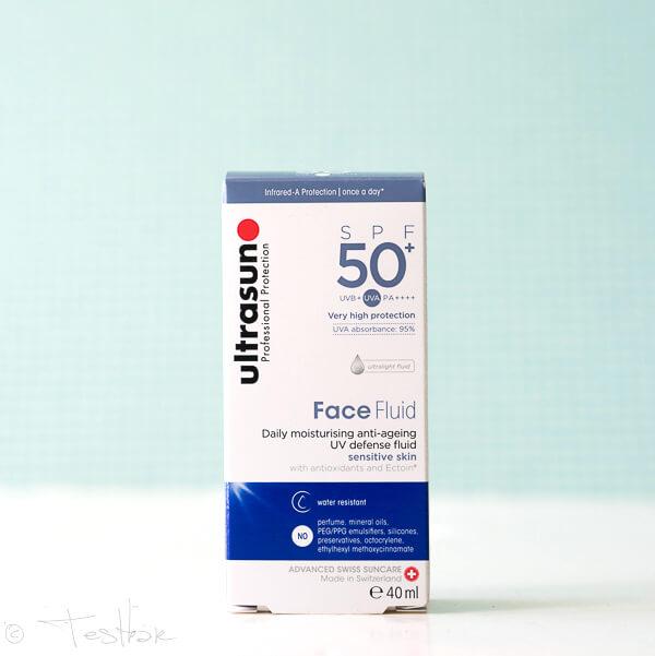 Hoher Sonnenschutz - Face Fluid SPF50+ von Ultrasun