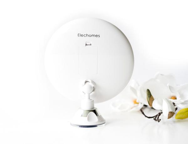 elechomes Make-up Spiegel mit 7-facher Vergrößerung inklusive Taschenspiegel