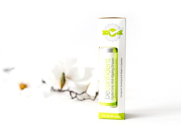 Hyaluronic Anti-Ageing Cream von beconfident