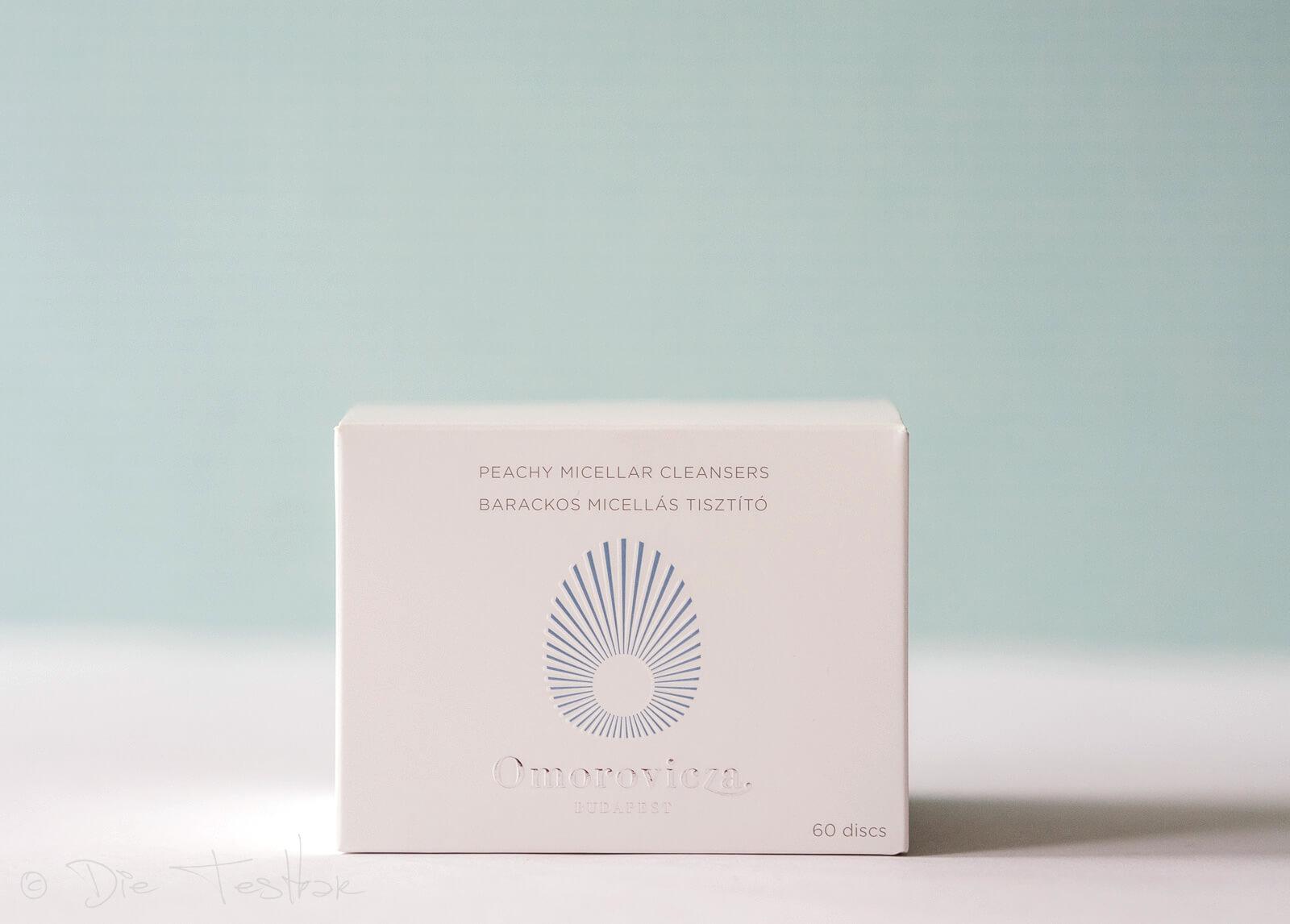 Omorovicza Peachy Micellar Cleansers - Sanfte Reinigungsschwämmchen in natürlicher Mizellenlösung