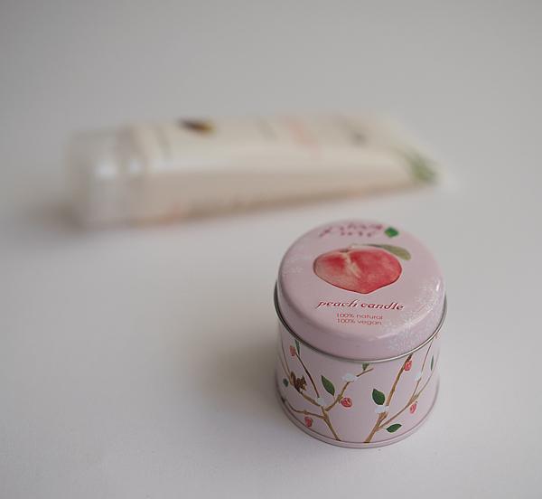 Peach Candle  - Shampoo und Duftkerze ohne chemische Inhaltsstoffe
