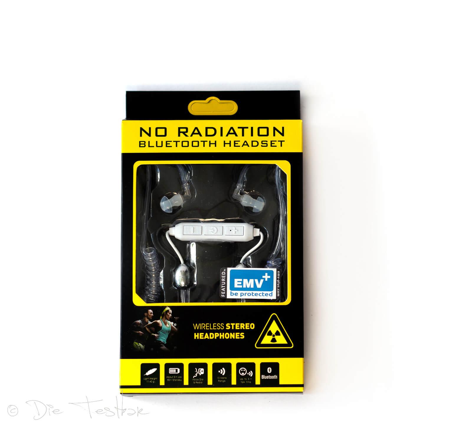 Strahlenreduziertes Bluetooth Headset