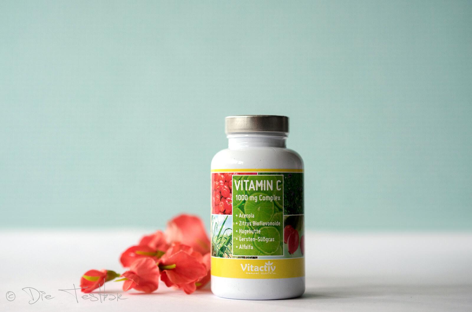 VITAMIN C 1000mg Complex + Acerola -7 Vitamin-C-Arten in einer Tablette. Hochdosiert!