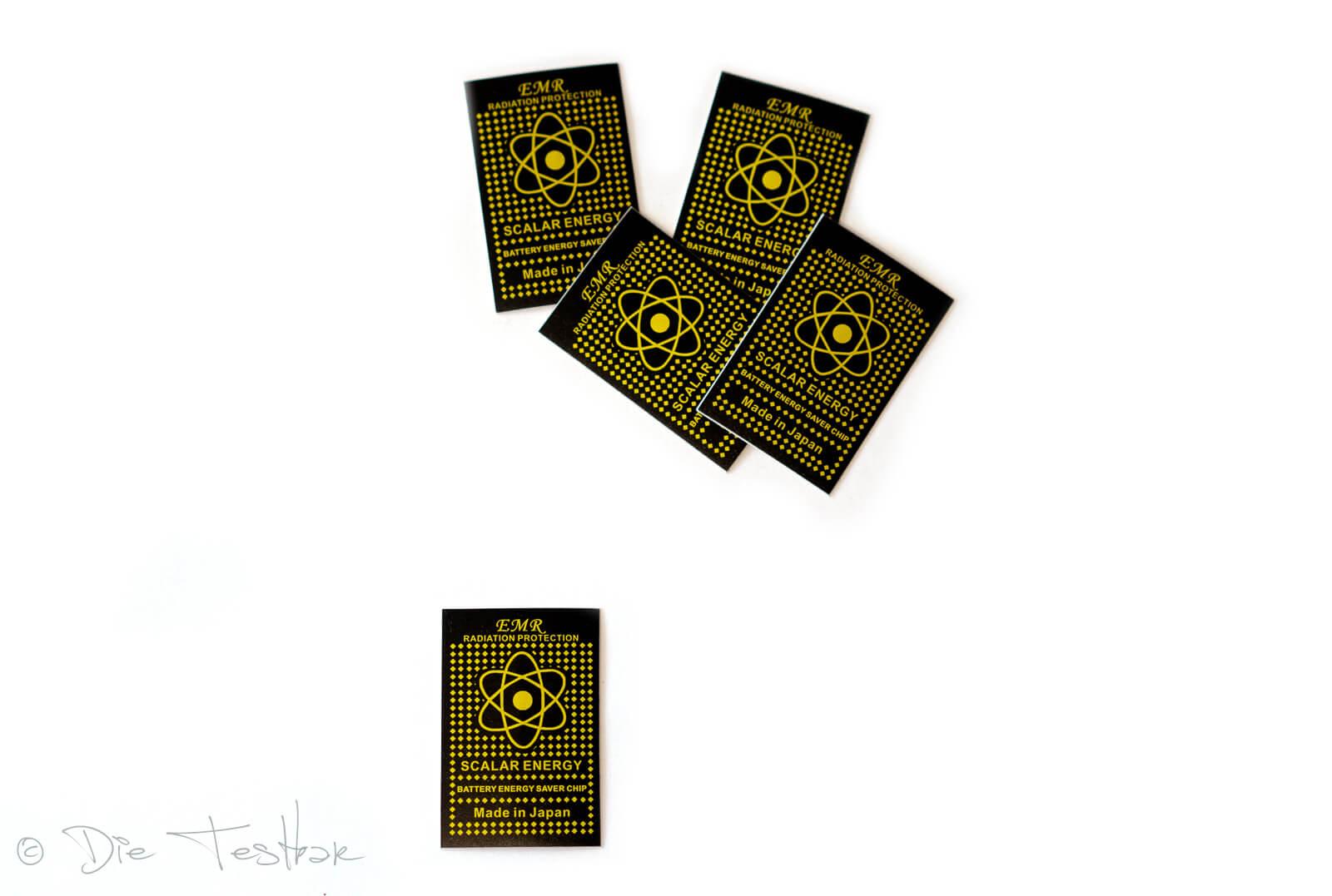 EMF-Strahlen-Neutralisator Aufkleber