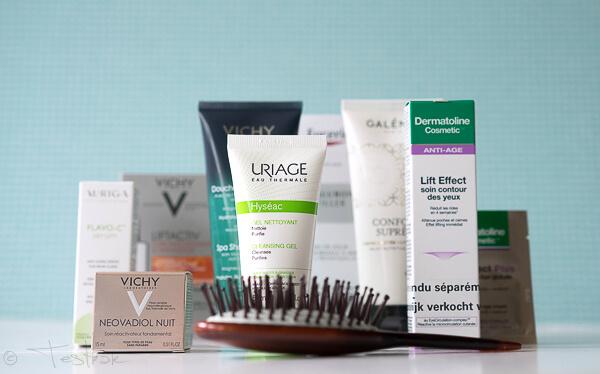 Personalisierte Box mit Kosmetik- und Wohlfühlprodukten von Newpharma