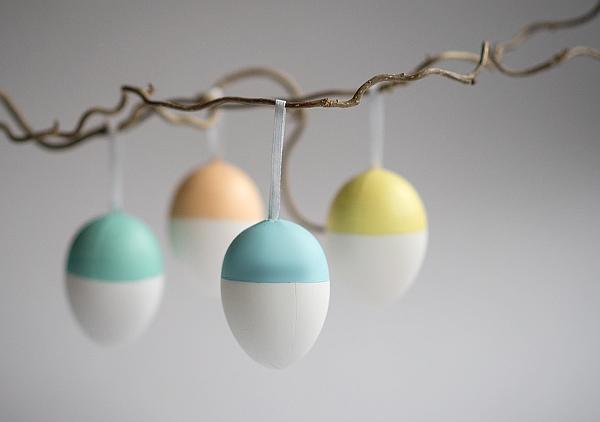 DIY - Ostereier in pastell und Kupfer