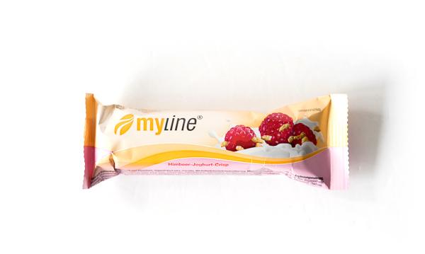 myline - Riegel Himbeer-Joghurt-Crisp
