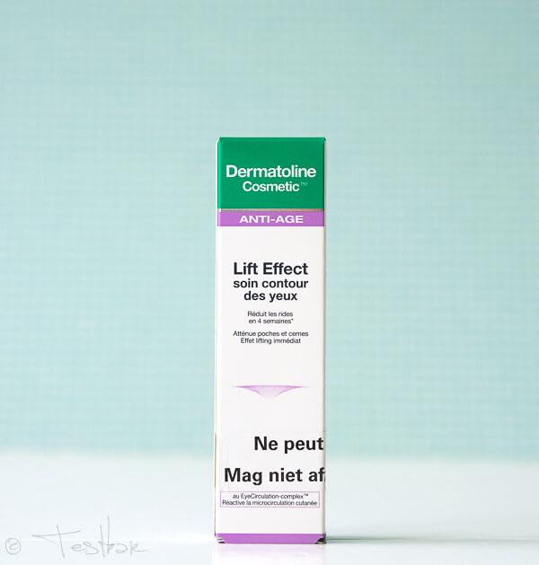 Dermatoline Cosmetic Lift Effect Augenkonturenpflege Tube