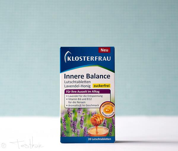 Innere Balance Lutschtabletten Lavendel-Honig