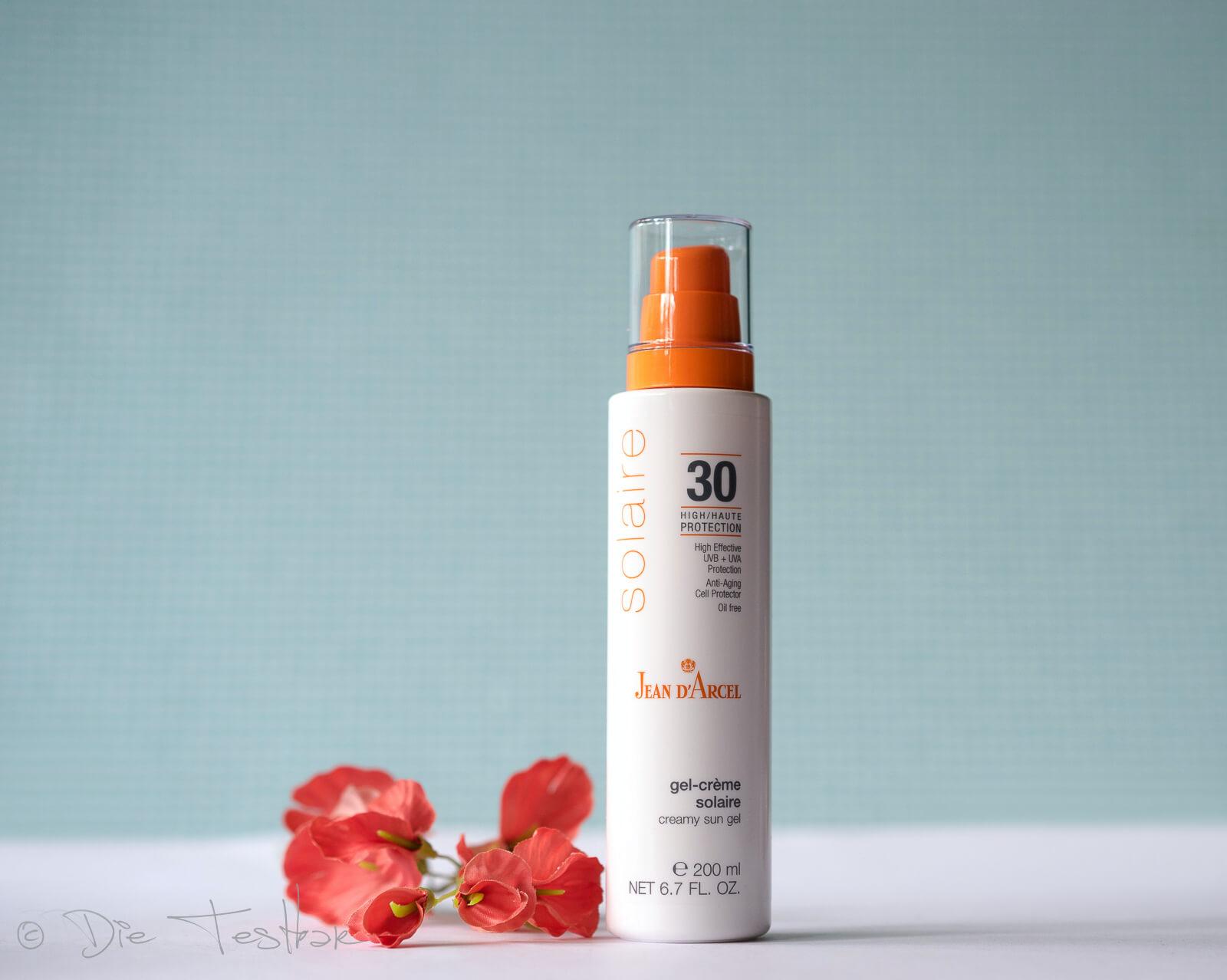 gel-crème solaire LSF 30 creamy sun gel