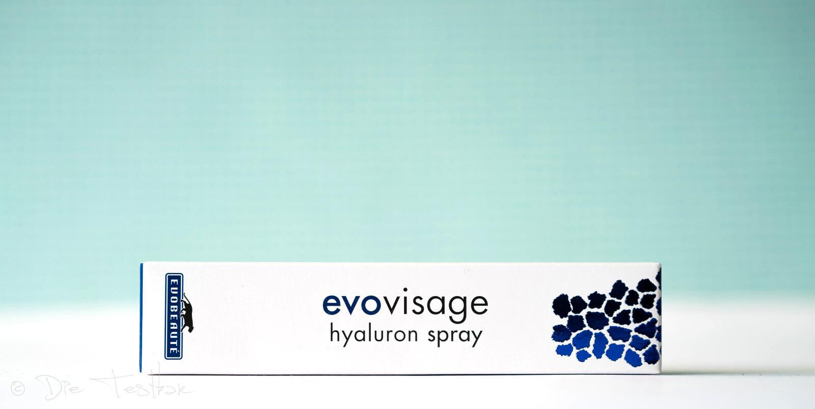 evobeauté - EVOVISAGE HYALURON-WASSER