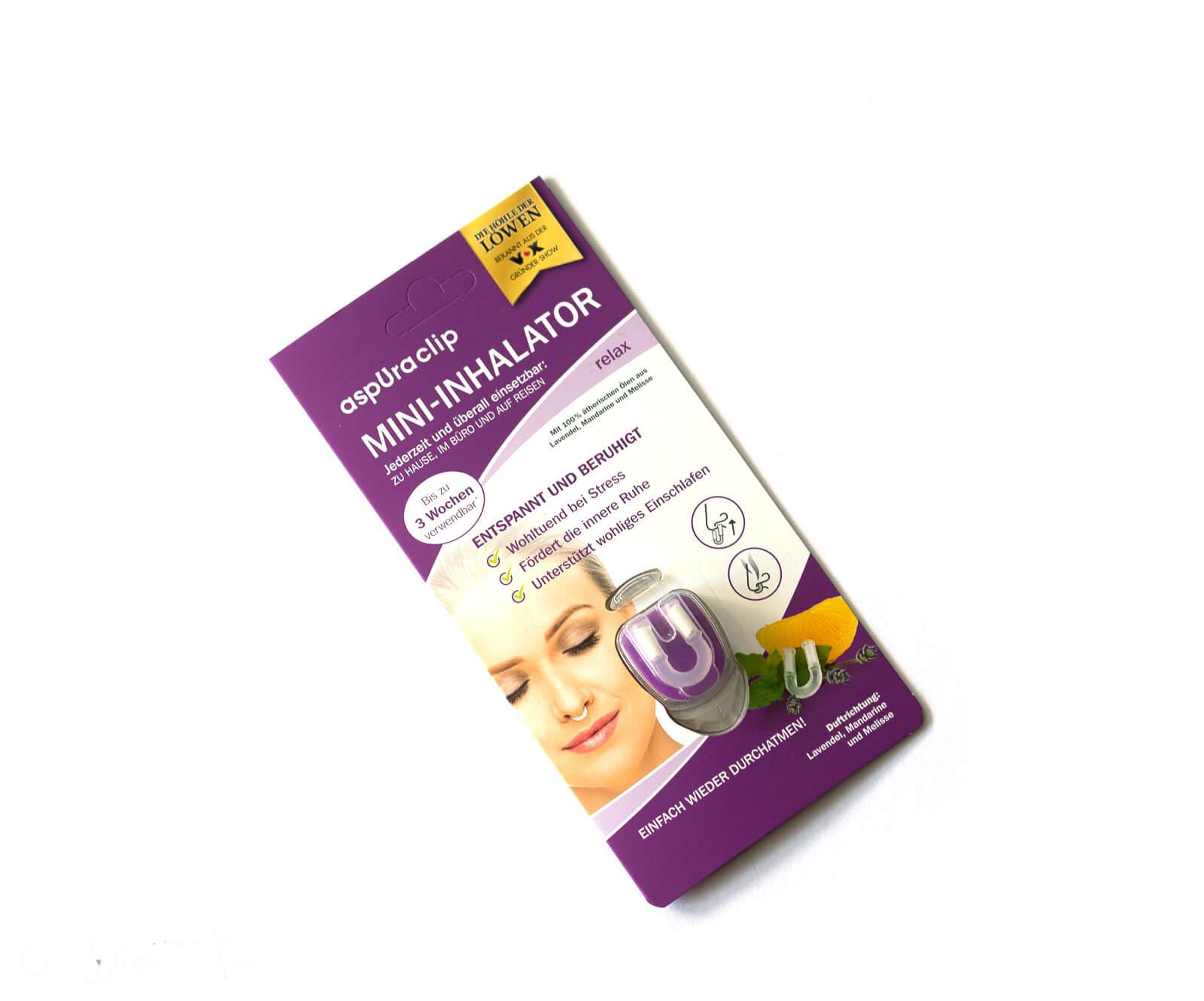 aspUraclip - Mini-Inhalator relax