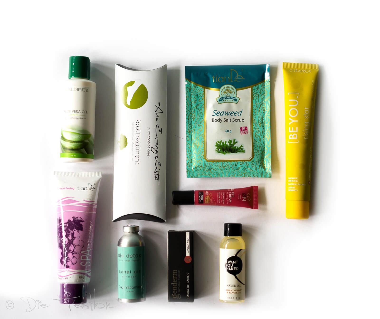 beautylove - The Natural Box im August 2020 - Powerful Rainforest