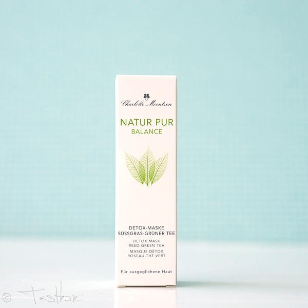 Naturkosmetik - Charlotte Meentzen - Natur Pur Balance - Detox-Maske Süssgras-Grüner Tee