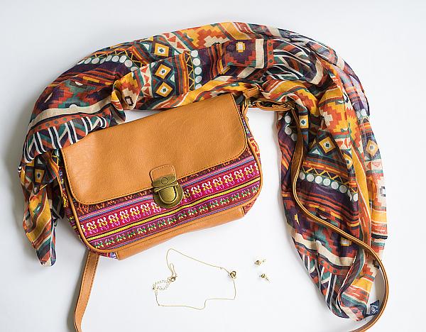 Tasche im Ethno-Design