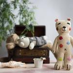 Zauberhafter Häkel-Teddy von Anne-Claire Petit