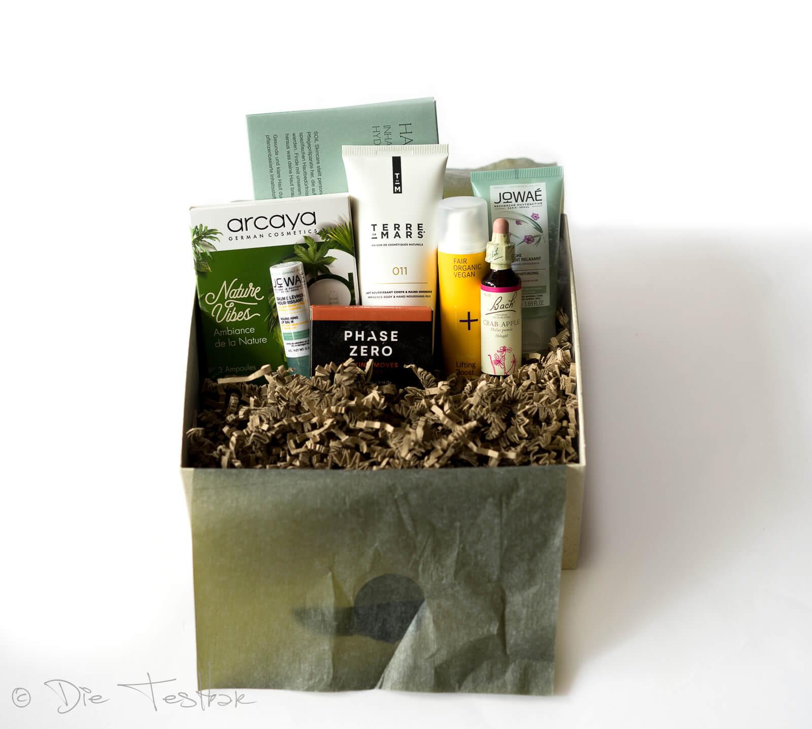 beautylove – The Natural Box im März 2021 – Graceful Leaf