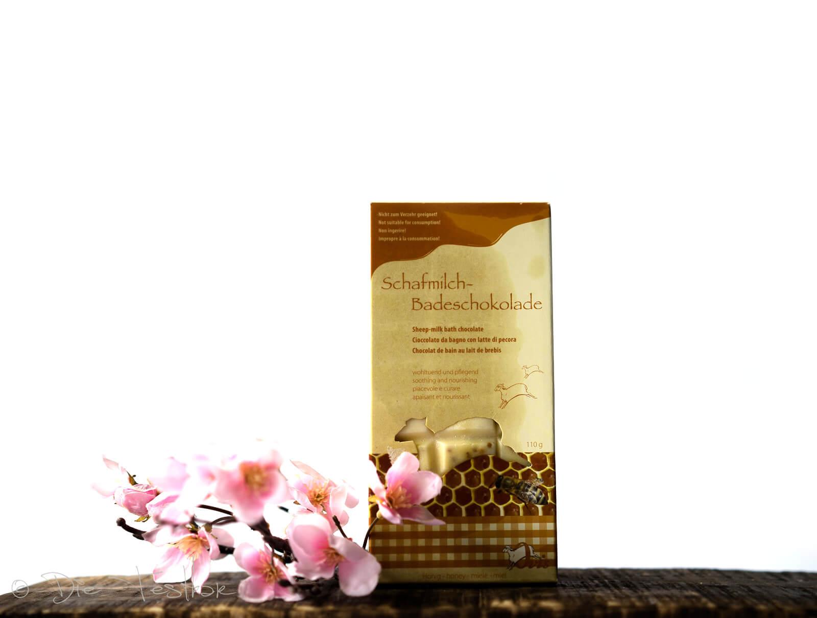 Badezusatz Schafmilch – Badeschokolade Honig – Ovis