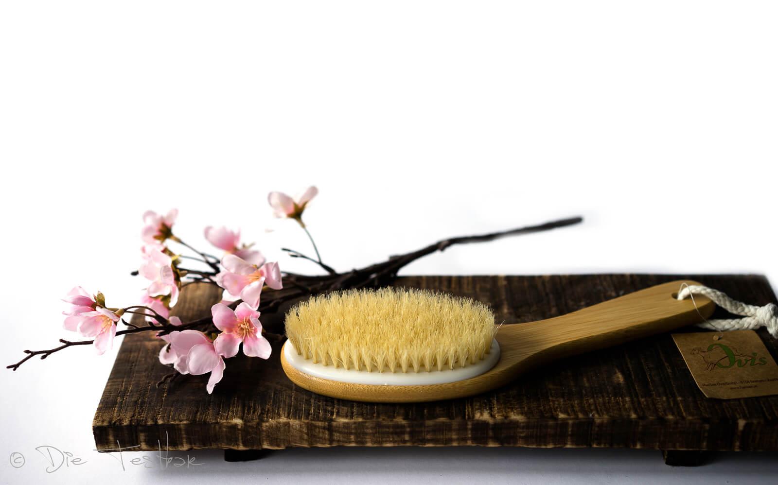 Bambus Ganzkörperbürste gebogen