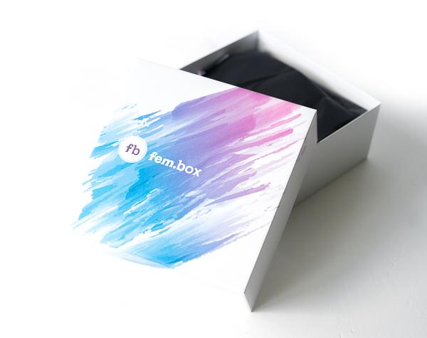 Die fem.box im März 2017
