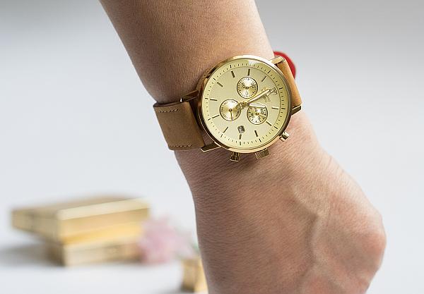 Detomaso MILANO DT1052-H - Armbanduhr Gold