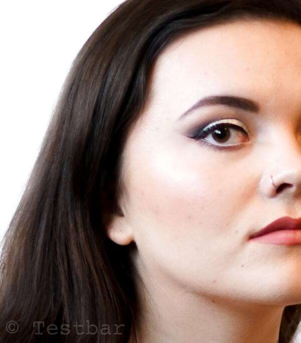 Dezentes Silvester Make up 2017 mit Produkten von Revlon