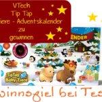 Gewinnspiel – VTech Tip Tap Baby Tiere – Adventskalender zu gewinnen >>>>closed<<<<