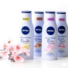Heute möchten wir Euch die neuen Pflegelotionen von Nivea vorstellen. Diese Duftöl-Pflegen sollen für sinnliche Momente in den Badezimmern sorgen. Sie sollen außerdem den hauteigenen Schutzmantel und den Feuchtigkeitshaushalt verbessern.  Die neuen Sensual Pflegelotionen von Nivea  Nivea Sensual Pflegelotion – Vanille & Mandelöl Das sagt die […]