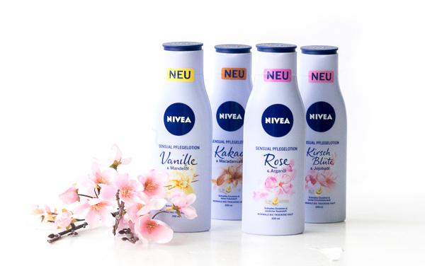 Sensual Pflegelotionen von Nivea