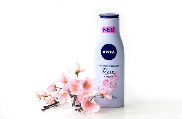 Nivea Sensual Pflegelotion - Rose & Arganöl