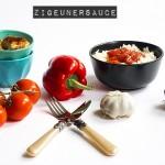 Rezept – Selbstgemachte Zigeunersauce mit Reis