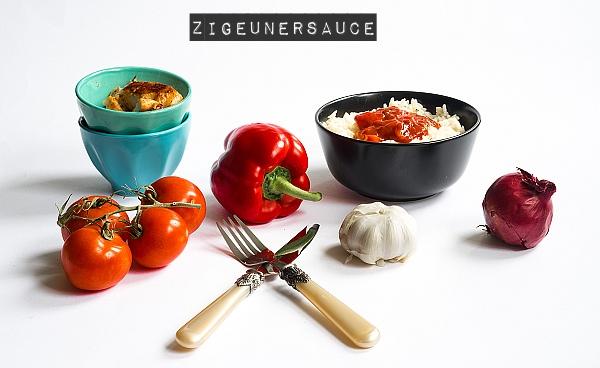 Rezept - Selbstgemachte Zigeunersauce mit Reis