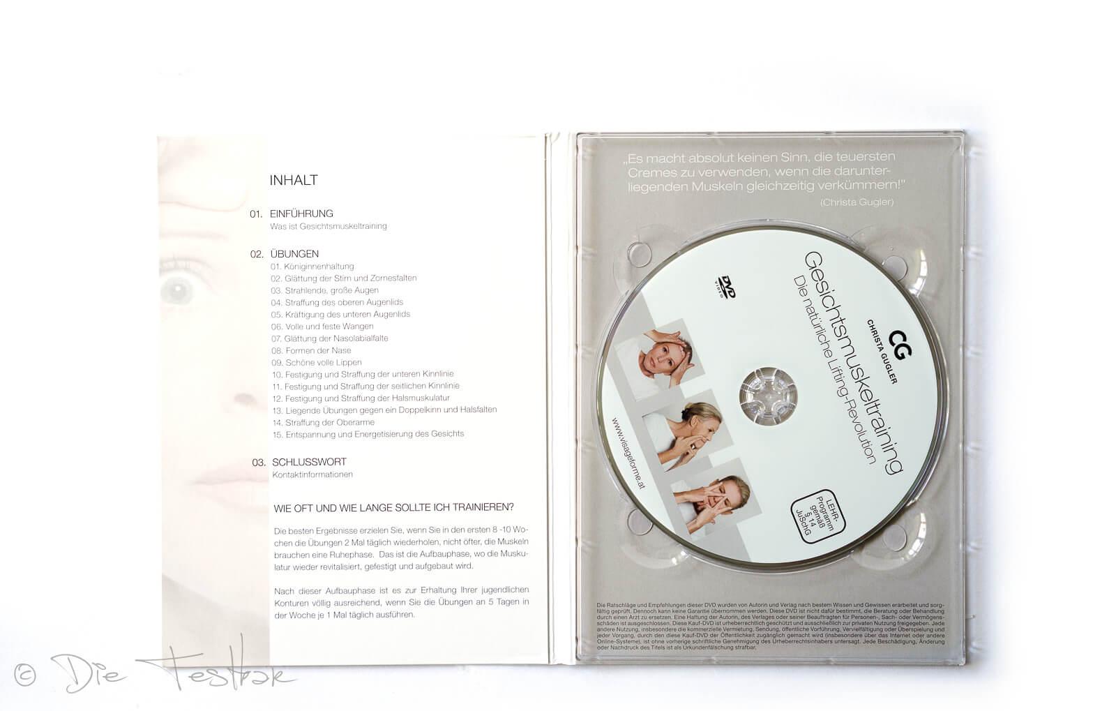 DVD zum Buch: Gesichtsmuskeltraining Die natürliche Lifting-Revolution