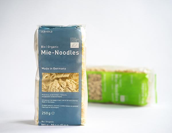 Degustabox Mai 2014 - ALB-GOLD - Bio Mie-Noodles und Mie-Noodles Dinkel