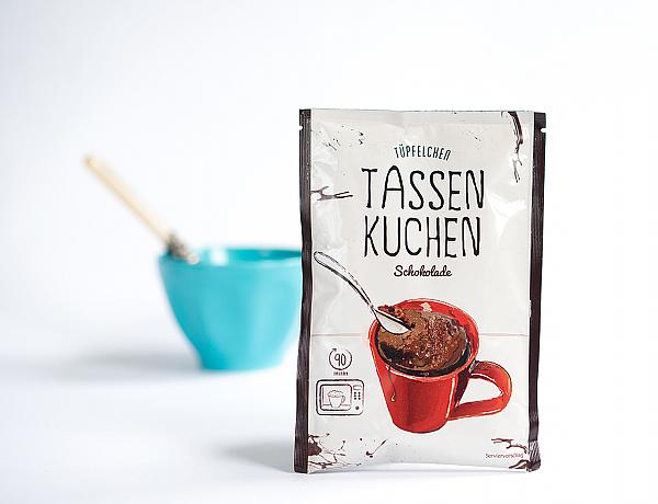 Degustabox Mai 2014 - Tüpfelchen - Tassenkuchen