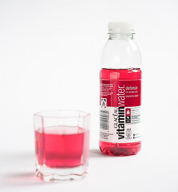 Degustabox Mai 2014 - Glacéau - vitaminwater raspberry-apple